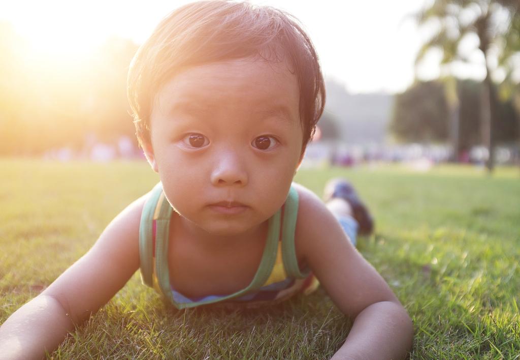 共同性斜视儿童